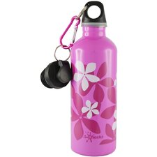 <strong>Cheeki</strong> Cheeki 500ml 17oz Stainless Steel Water Bottle - Frangipani Pink - BPA Free