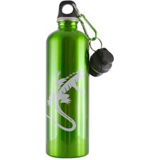 <strong>Cheeki</strong> Cheeki 750ml 25oz Stainless Steel Water Bottle - Gecko Green - BPA Free