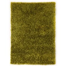 Ribbon Green Shag Rug