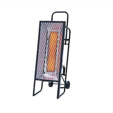35,000 BTU Radiant Tank Top Portable Propane Space Heater
