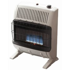 Vent Free 20,000 BTU Convection Utility Liquid Propane Space Heater