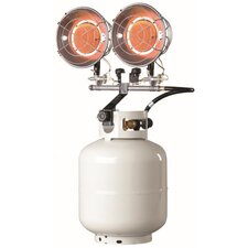 10,000 - 30,000 BTU Radiant Tank Top Propane Space Heater