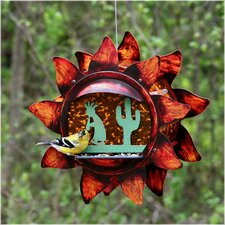 Southwest Kokopelli Decorative Bird Feeder