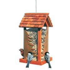 Betsy Fields Pinery Wild Decorative Hopper Bird Feeder
