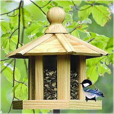 Pine Gazebo Bird Feeder