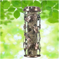 Copper Garden Bird Feeder