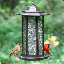 <strong>Birdscapes</strong> Tall Tulip Garden Lantern Bird Feeder