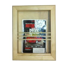 <strong>WG Wood Products</strong> Bevel Frame Recessed Magazine Rack