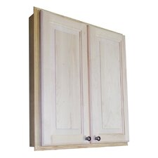 "<strong>WG Wood Products</strong> Baldwin 29.5"" x 31.5"" Recessed Medicine Cabinet"