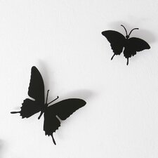 <strong>Diamantini & Domeniconi</strong> Butterflies Wall Décor (Set of 3)