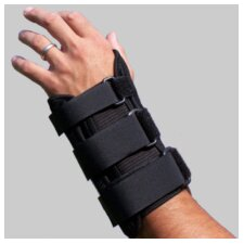 Comfort Foam Cock-Up Wrist Splint Brace