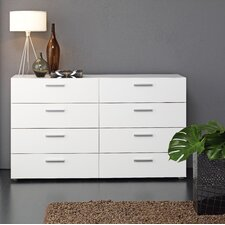 <strong>Tvilum</strong> Austin Bedroom 8 Drawer Dresser
