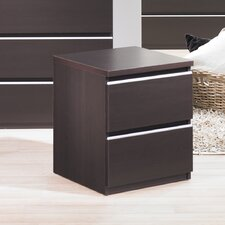 <strong>Tvilum</strong> Tucson Bedroom 2 Drawer Nightstand