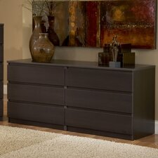 <strong>Tvilum</strong> Scottsdale 6 Drawer Double Dresser