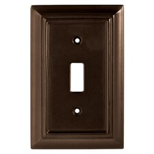 Wood Architectural Single Switch Wall Plate