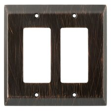 Stately Double Decorator Wall Plate