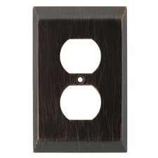 Stately Single Duplex Wall Plate