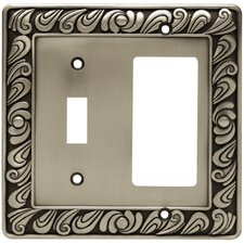 Paisley Single Switch GFCI/Rocker Wall Plate