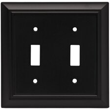 Architectural Double Switch Wall Plate