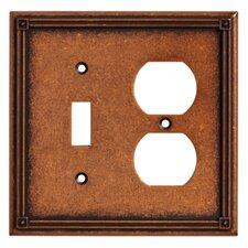 Ruston Single Switch/Duplex Wall Plate