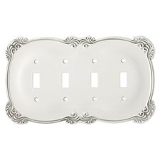 <strong>Brainerd</strong> Arboresque Quad Switch Wall Plate