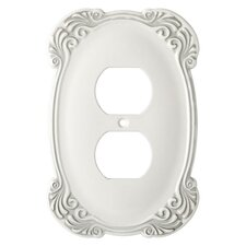 Arboresque Single Duplex Wall Plate