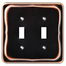 Tenley Double Switch Wall Plate