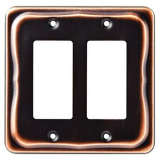Tenley Double Decorator Wall Plate