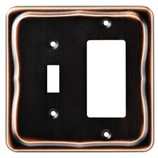 <strong>Brainerd</strong> Tenley Single Switch/Decorator Wall Plate