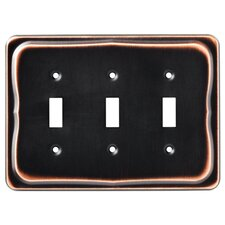 Tenley Triple Switch Wall Plate