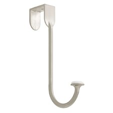 Over the Door Hook in Satin Nickel