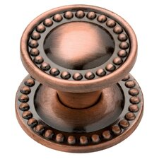 "Decorative Beaded 1.42"" Cabinet Round Knob"
