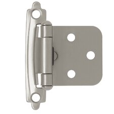 "Decorative Self-Closing Overlay 0.82"" Hinge"