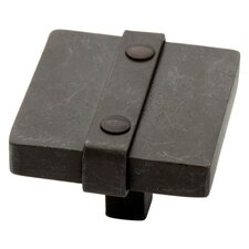 "<strong>Liberty Hardware</strong> Iron Craft 1.5"" Square Knob"
