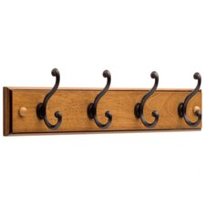 <strong>Liberty Hardware</strong> 4 Scroll Hook Rail
