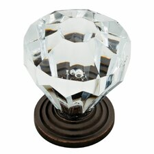 "Design Facets 5"" Faceted Knob"