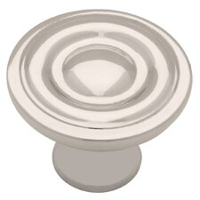 "Decorative Ring 1.25"" Round Knob"