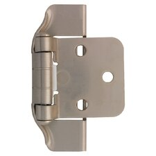 "Decorative Semi-Wrap Overlay 2.75"" Hinge (Set of 2)"