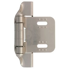 "Decorative Semi-Wrap Overlay 2.75"" Hinge"
