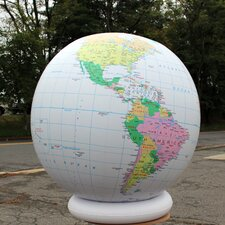 Political Globe with Negative Ions