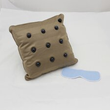 Eye Mask, Massage Throw Pillow