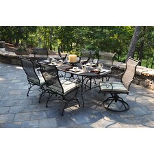 <strong>Meadowcraft</strong> Alexandria 7 Piece Dining Set