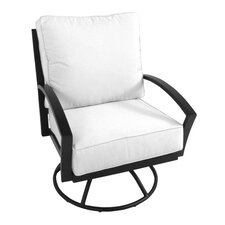 <strong>Meadowcraft</strong> Maddux Swivel Rocking Chair with Cushion