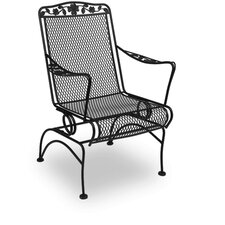<strong>Meadowcraft</strong> Dogwood Coil Spring Dining Arm Chair