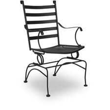 <strong>Meadowcraft</strong> Del Rio Coil Spring Dining Arm Chair