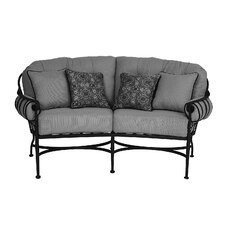 <strong>Meadowcraft</strong> Athens Deep Seating Loveseat with Cushion
