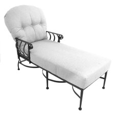 Athens Chaise Lounge with Cushion