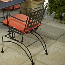 <strong>Meadowcraft</strong> Vera Cruz Coil Spring Dining Arm Chair