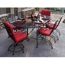 <strong>Meadowcraft</strong> Dogwood 7 Piece Dining Set