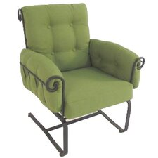 <strong>Meadowcraft</strong> Regency Spring Chair with Cushion